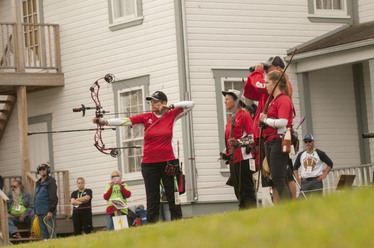 Le Canada remporte deux médailles sur son terrain aux mondiaux de tir à l'arc 3D