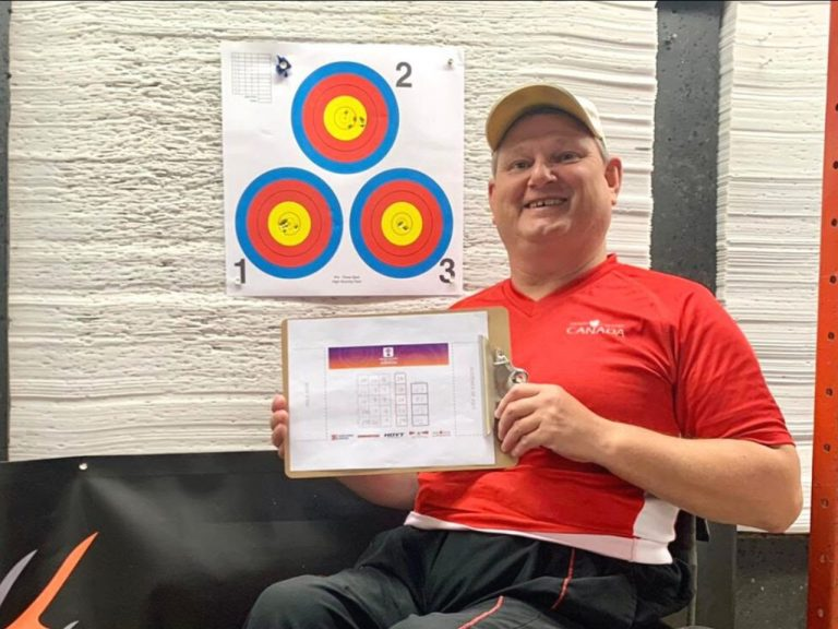 Canadian Para-Archer takes Gold in the Online Cup of the Americas