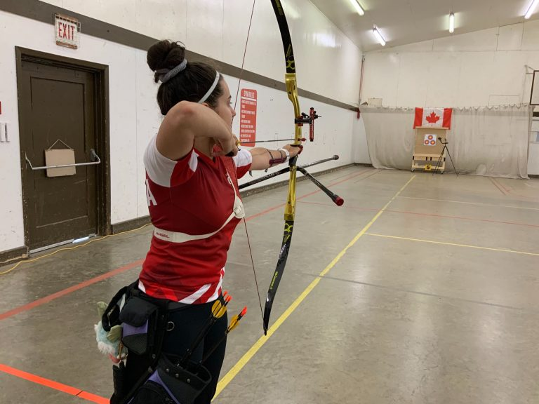 BC's Mariessa Pinto moves onto the Cup of the Americas Women's Recurve Finals.