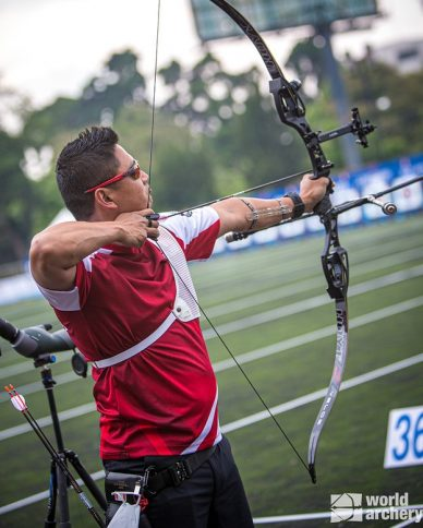 Recurve men advance to Eliminations at World Cup in Guatemala