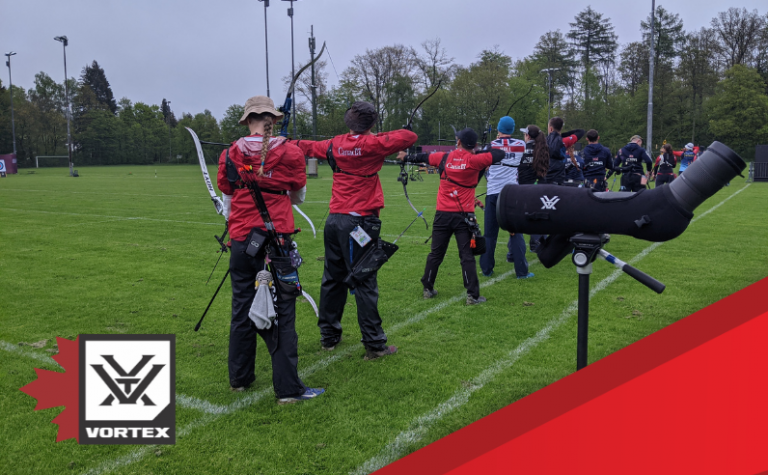 Vortex Canada enters agreement as Archery Canada's official optics partner in support of national teams