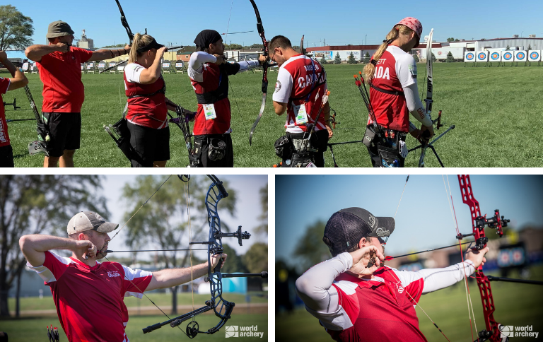 Day 2 of Yankton 2021 World Archery Championships